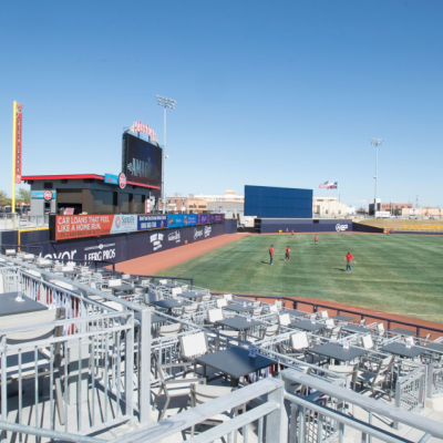 Best Economic Game Changer/over 50K population<br>Hodgetown Minor League AA Baseball Stadium <br>Amarillo