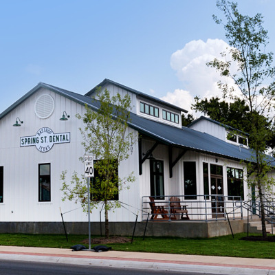 Best New Construction<br>under 50K population<br>Spring Street Dental <br>Bastrop