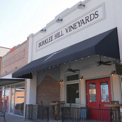 Best Economic Game Changer<br>under 50K population<br>Burklee Hill Vineyards<br>Levelland